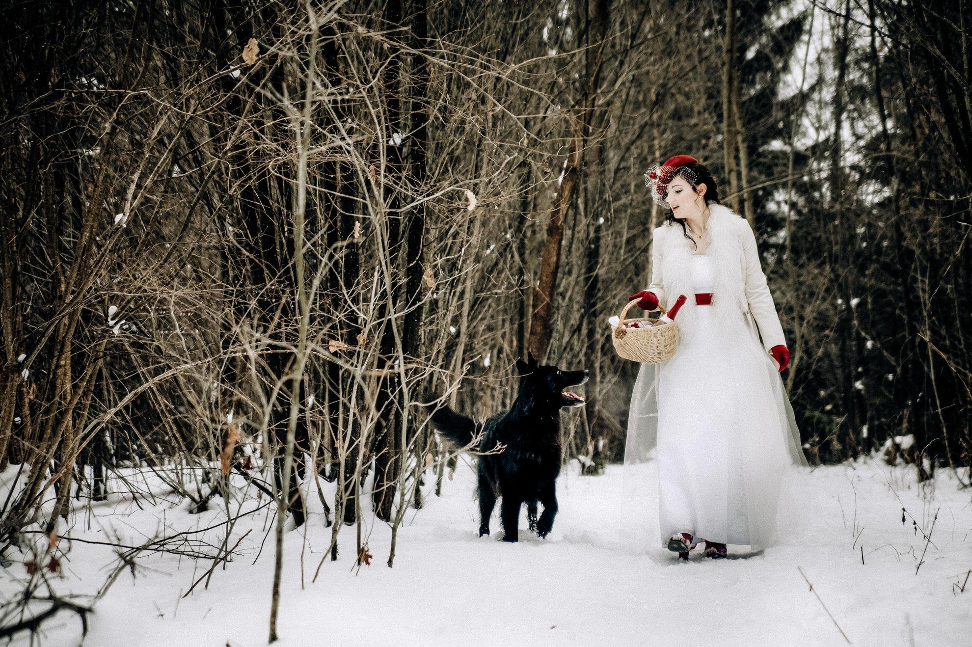 Rotkäppchen - ein Hochzeitsmärchen