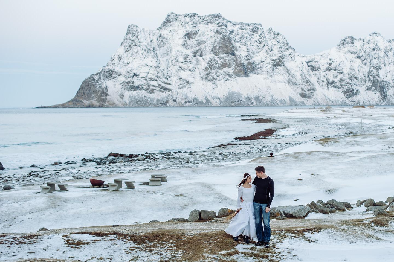 Norwegen- Flitterwochen auf den Lofoten